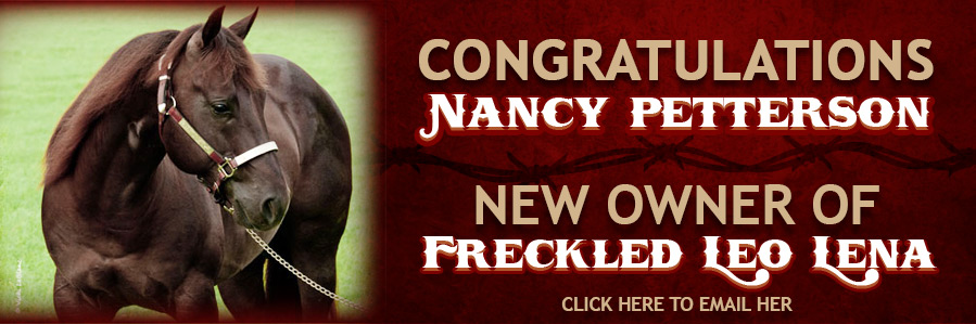 Freckled Leo Lena New Owner